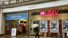 A HMV store in north London.