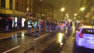 Great Victoria Street in Belfast
