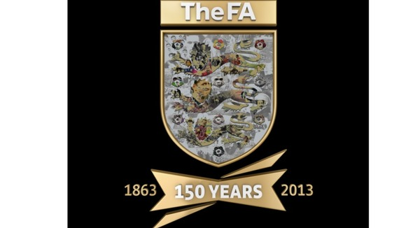 The FA release a new shield made up of some of the most notable moments of its 150 year history
