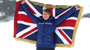 Bath's Lizzy Yarnold to be Winter Olympics flag bearer