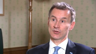 Jeremy Hunt tells ITV News that NHS winter crisis is 'worst ever'