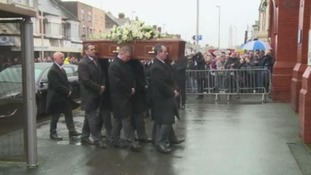 Funeral of former Leeds United manager Jimmy Armfield