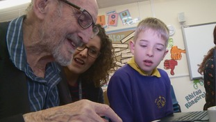 'You're never too old to learn how to use an iPad' - Veteran Reg, 94, leads the way