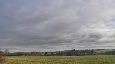 Cloudy skies over Hertfordshire