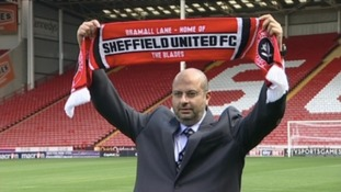 Prince Abdullah pictured at Bramall Lane in 2013.