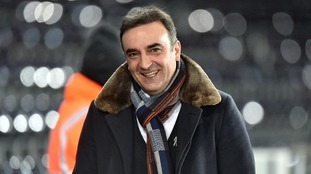 He is all about the jokes but Carvalhal claims he is serious about keeping Swansea up