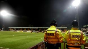 Abbey Stadium will host Cambridge United v Lincoln City on Friday evening