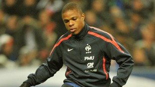French international Loic Remy before a friendly against the USA