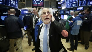 Wall Street stocks rally after morning of heavy losses