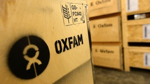 The government is reviewing its relationship with Oxfam.