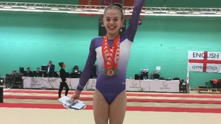 Young gymnast from Devon crowned English champion