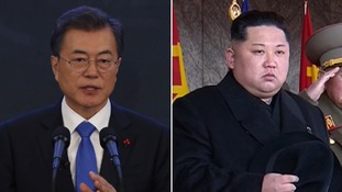 Kim Jong-un invites South Korean president Moon Jae-in to Pyongyang for summit