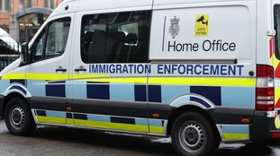 Four men detained in immigration investigation