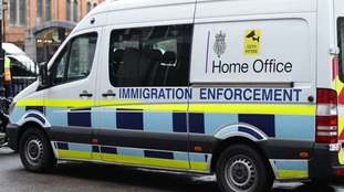 immigration van