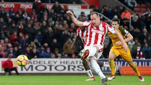 Relegation-threatened Stoke draw at home with Brighton