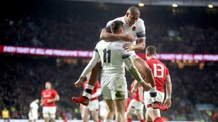 May brace sees England past Wales at Twickenham