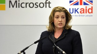 Penny Mordaunt warns Oxfam that funding could be withdrawn after sexual misconduct allegations