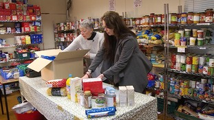Charity appeal to fund a food bank delivery service