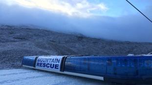 Mountain rescue car