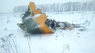 No survivors after passenger jet crashes shortly after takeoff outside Moscow