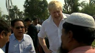 Boris Johnson: No doubt 'industrial ethnic cleansing' of Myanmar's Rohingya has taken place