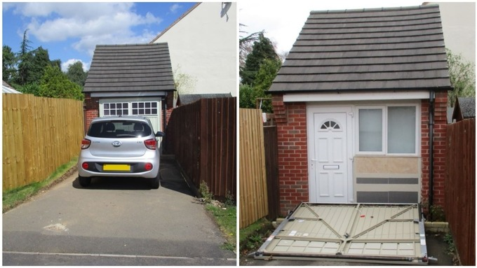 Couple Fined After Converting Garage Into House Central Itv News