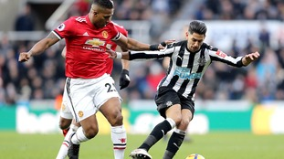 Newcastle beat Man Utd