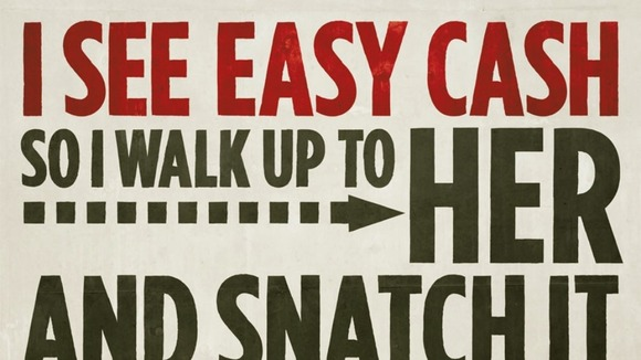 One of the posters launched with the anti-theft campaign