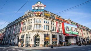 A man is fighting for his life after breaking up a fight outside the Printworks