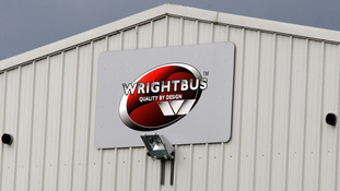 Up to 95 jobs facing axe at Wrightbus