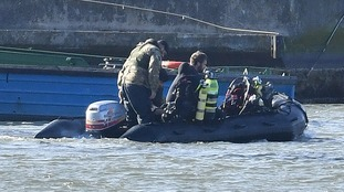 Wartime bomb to be dragged 'nine hours underwater' before controlled explosion