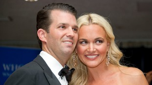 Donald Trump Jr's wife hospitalised after opening letter containing unknown substance