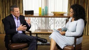Lance Armstrong Oprah Winfrey