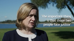 Home Secretary Amber Rudd said she would not comment on the location of where 'justice' could be sought.
