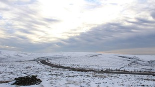 Snow above Holmfirth