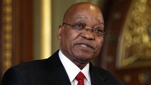 Jacob Zuma ordered to stand down as South Africa's President by his ANC party