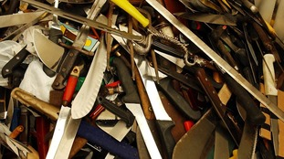 Knife amnesty underway in Gwent Police force area