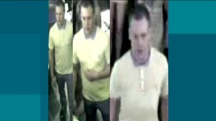 CCTV of the man police want to speak to