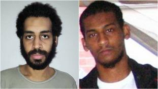 Alexanda Kotey and El Shafee Elsheikh were captured in Syria last month.