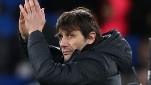 Conte thanks fans after Chelsea return to winning ways