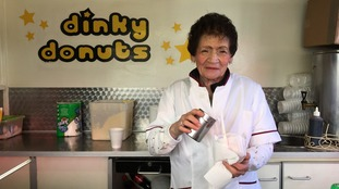 Lina Ognissanti has been selling sweet treats in Bedford for more than 40 years