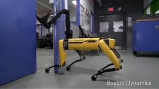 Meet the Boston Dynamics robotic pet dog which can open doors