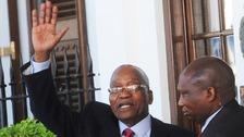 South Africa's Jacob Zuma going... going... but still not gone