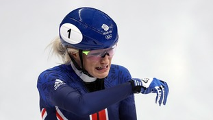 Elise Christie left the ice in tears.