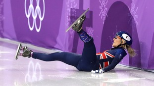 Elise Christie was retrospectively upgraded to fourth spot.