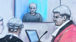 Barry Bennell appeared via videolink at Liverpool Crown Court.