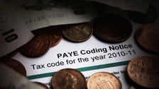 Money and PAYE coding