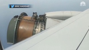 'Scariest flight of my life': Passengers speak of mid-air drama after plane's engine cover blows off