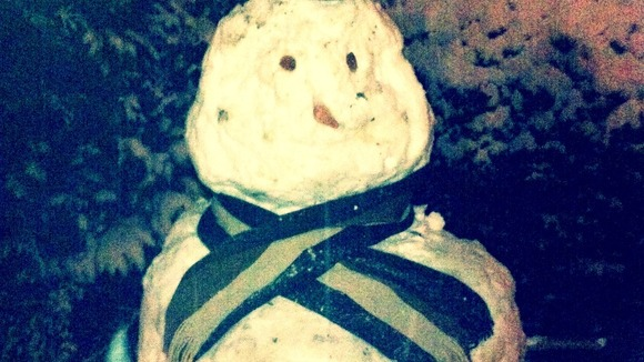 Snowman by Sean in Dereham