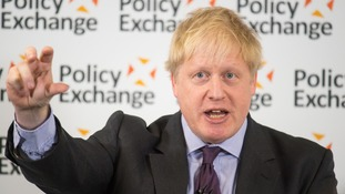 Boris Johnson: Brexit is not a 'V-sign from the cliffs of Dover'